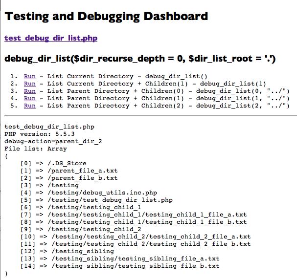 test_debug_parent_dir_2 in browser third test link chosen