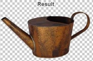 Example Watering Pot Complete.  Source: https://clippingmagic.com