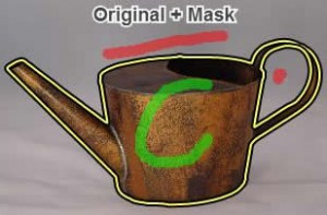 Example Watering Pot Selected. Source: https://clippingmagic.com